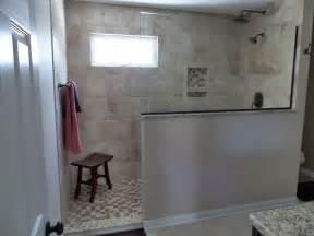 Doorless Shower Small Bathroom Doorless Shower Luxury Showers