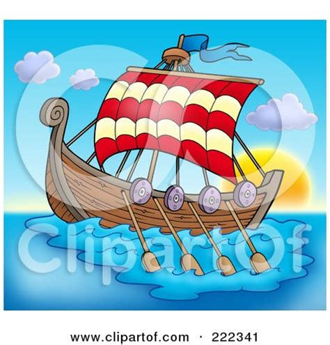 long boats cartoon royalty free stock illustrations of vikings by visekart page 1