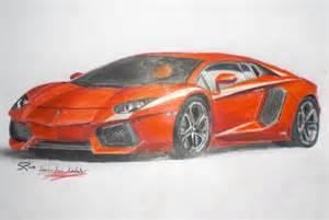 Drawing Lamborghini Aventador Lamborghini Aventador By Edesr On Deviantart