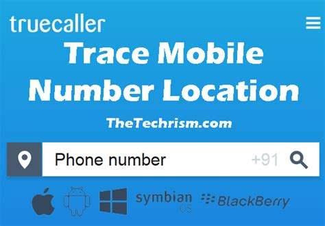 Search Mobile Number Details Address Android Apps To Trace Mobile Number Owner Name Location Place The Techrism