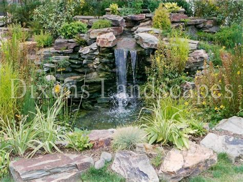 building ponds and waterfalls in backyard pond waterfalls uk 187 all for the garden house beach