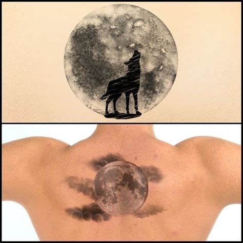 full moon tattoos designs moon with clouds www pixshark images