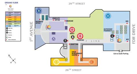 tisch hospital map hospital map department of cell biology