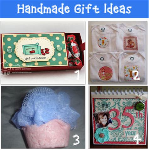 Ideas For Handmade Gifts For Friends - handmade diy gift ideas tip junkie