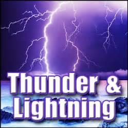 Lightning Sound Effect Thunder Lightning Sound Effects Weather Sound Effects