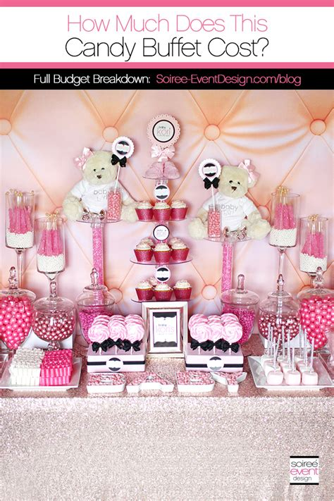 How Much Does A Baby Shower Cake Cost by How Much Does A Buffet Cost Soiree Event Design