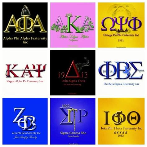 sorority colors black fraternities and sororities colors images