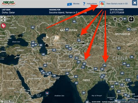 tracking santa on norad where is santa claus your 2016 guide to santa trackers