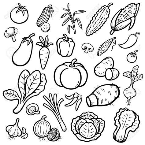 dibujos para colorear de frutas y verduras dibujos de verduras para colorear great dibujo para