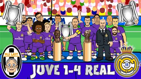 ronaldo juventus 442oons juve 1 4 real madrid real duodecima real win the chions league goals highlights