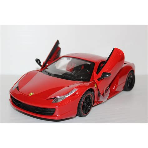 Rc Mobil La Ferarri mobil rc scale 1 14 458 with door can be opened by remote elevenia