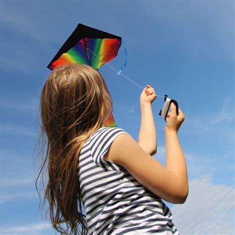Layang Layang Pelangi Waterproof Material Berkualitas layang layang pelangi untuk anak waterproof material multi color jakartanotebook
