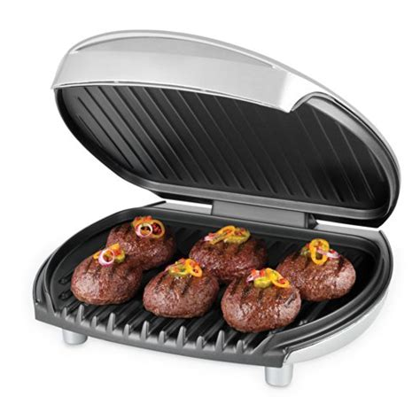 George Foreman Mp3 Ready Grill by George Foreman Gr0030p Jumbo Sized Grill Platinum