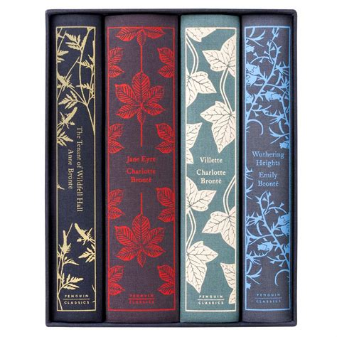 the bront sisters boxed penguin classics bront 235 sisters hardcover fabric book box set juniper books