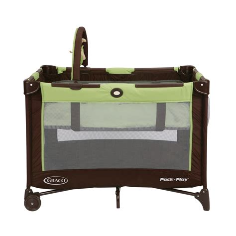 Play N Go Crib by Graco Pack N Play On The Go Travel Playard Go Green Baby