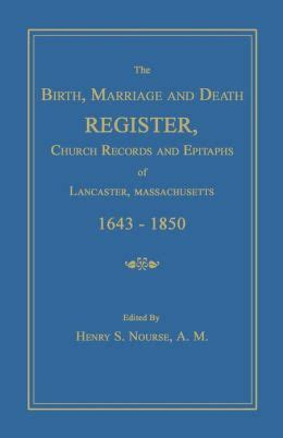 Lancaster Marriage Records The Birth Marriage And Register Church Records And Epitaphs Of Lancaster
