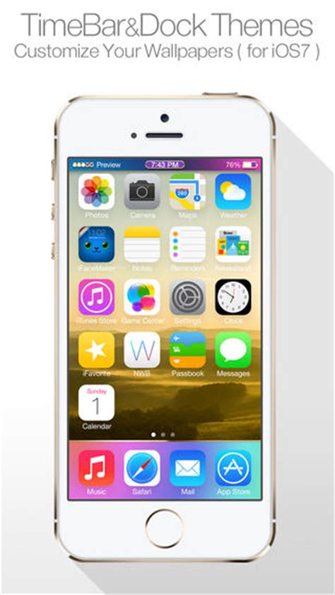 new themes iphone dock themes for ios7 home screen iphone new