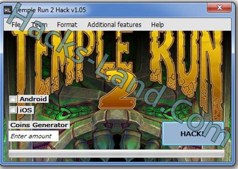temple run 2 hack free generate free coins