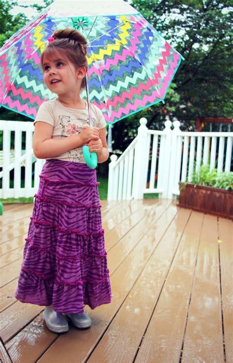 children s tiered knit maxi skirt tutorial