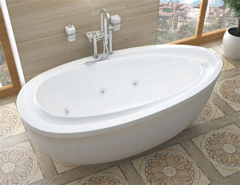 Bathtubs At Menards by 38 Quot X 71 Quot Freestanding Whirlpool Jetted Bathtub At