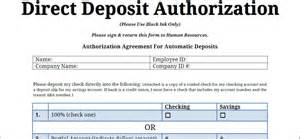 bank deposit form template the gallery for gt direct deposit form template