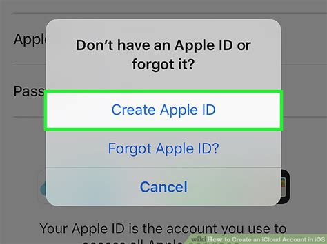 how to make your apple id without a credit card the easiest way to create an icloud account in ios wikihow