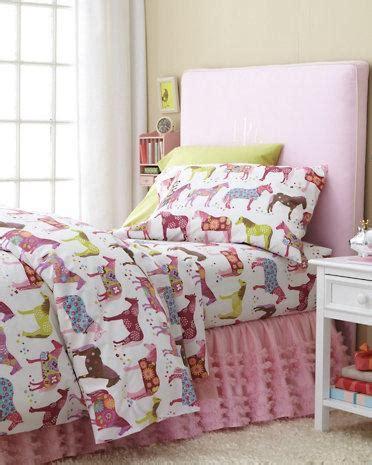 horse bedroom for girls painted ponies flannel bedding garnet hill