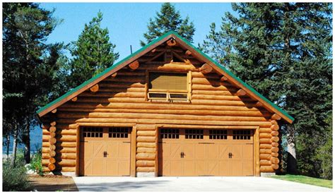 log cabin garage log garages with loft quotes