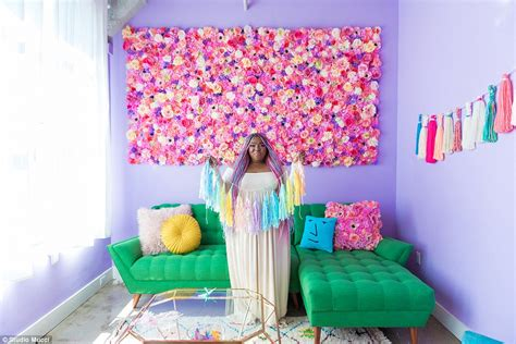 Colorful Rainbow Home Decor Ladyboom Goes For For Rainbow Colored Apartment