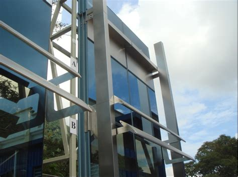 unitized glass curtain wall curtain wall lightning protection decorate the house
