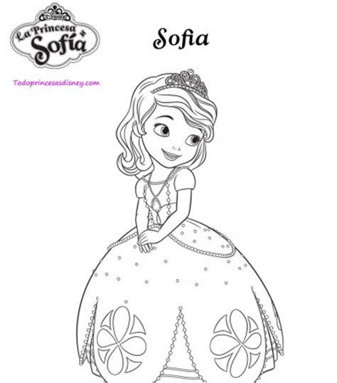 imagenes para pintar sofia dibujos para imprimir y colorear de princesa sof 237 a