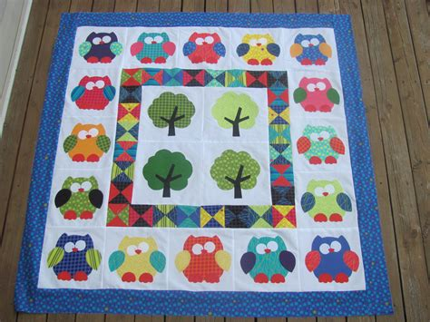 hooterville baby quilt sew what