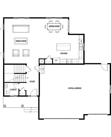 floor plan of a room 100 2 story great room floor plans 105 best craftsman