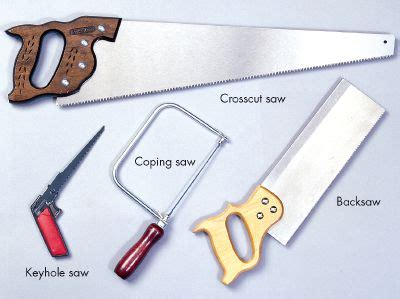 type of saw types of saws for wood pdf woodworking