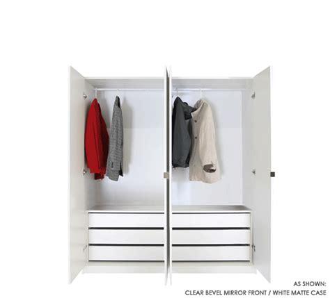 mirrored wardrobe closet packages storage furniture