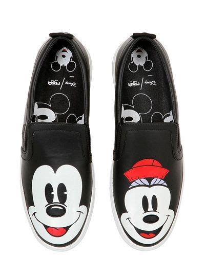 Black Master Slip On Black Duck moa master of arts disney printed leather slip on sneakers