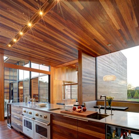 wood ceiling panel 18 wood panel ceiling designs ideas design trends