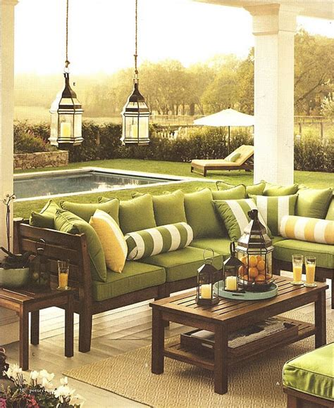 Chairs Pottery Barn pottery barn outdoor furniture green cushions on patio