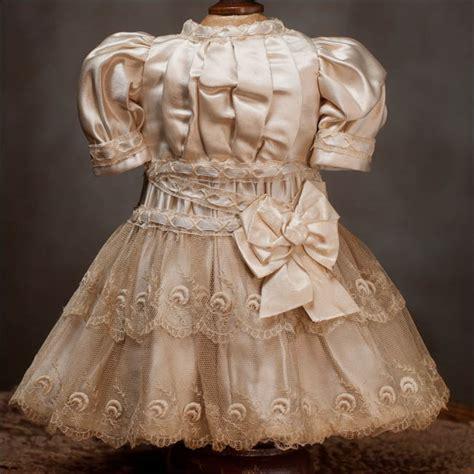antique silk dress fit jumeau bru steiner doll