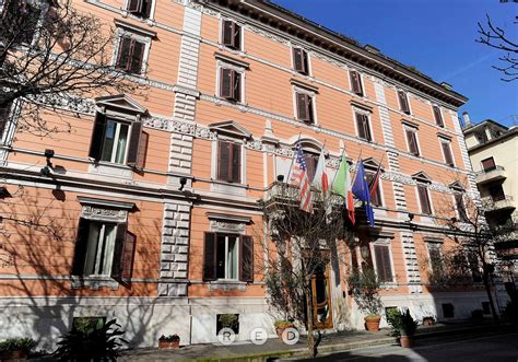 hotel giulio cesare rome red renovation amp design