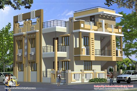 4 story house 2370 sq ft indian style home design a taste in heaven