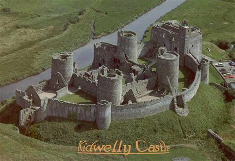 Harlech Castle Floor Plan by Kidwelly Castle
