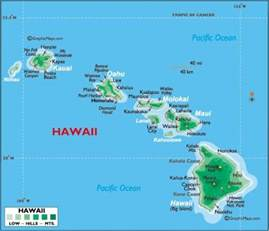map of hawaiian islands and california map of hawaii free printable maps