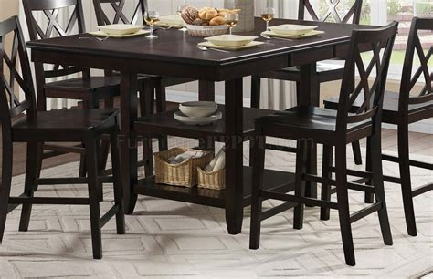 5 pc homelegace beaumont dining philipsburg 5078 36 counter height dining 5pc set by
