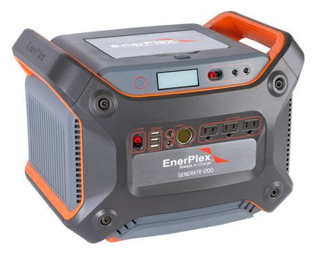 Silent Battery Operated Home Generator Enerplex Generatr Y1200 Solar Charger Generator Walmart Ca