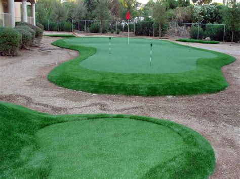 lawn goodyear arizona backyard putting green