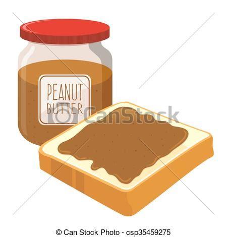 peanut butter spread on a bread. peanut butter spread on