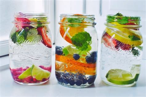 Infused Water Detox Plan by Fruit Water Recipes And Tips Guysgirl