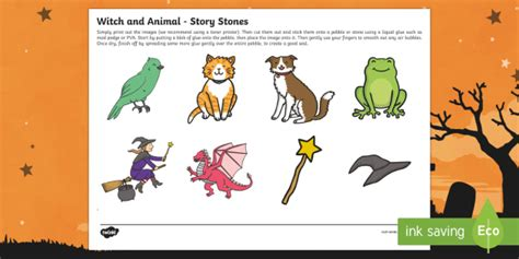 Room On The Broom Animals by Witch And Animals Story Image Cut Outs Room On The