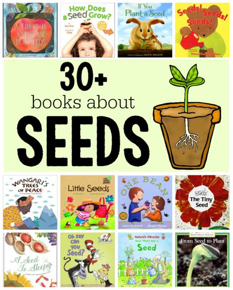 seeds of books books about seeds and plants the measured